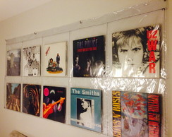 Cortina Display para Discos de Vinil