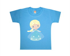 Body ou Camiseta Frozen Rainha Elsa