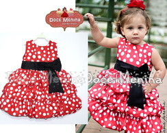 Vestido Balon� da Minnie mouse