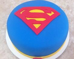 Bolo Pasta americana - Superman