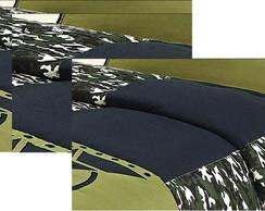 Kit Camuflado Luxo pra Meninos 5 Pe�as