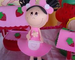 Boneca Biscoitinho - Turma Moranguinho