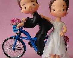 Noivinhos na Bicicleta.
