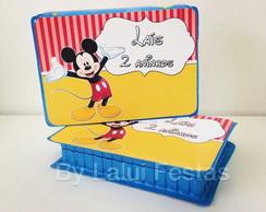 Mickey - Mini Estojo Pintura