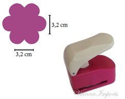 Furador Scrapbook 3,2cm - Flor Cotton