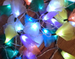Luzes decorativas colorida