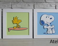 Quadrinho Baby - Snoopy Surf (Quarteto)