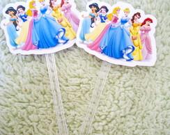 Topper no Palito - Princesas