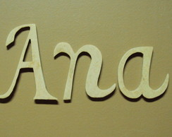 Letras decorativas em mdf para quadros