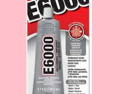 Cola E6000 109,4 ml Importada No Brasil