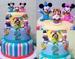Bolo Cenogr�fico Baby Disney - loca��o