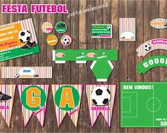 Festa Futebol Kit para Meninas SHOW