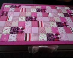 Caixa patch rosa
