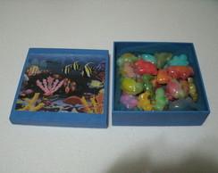30 sabonetes fundo do mar