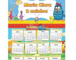 Calend�rio Galinha Pintadinha 29x21