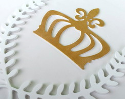Kit Coroa de Ramos + Coroa dourada