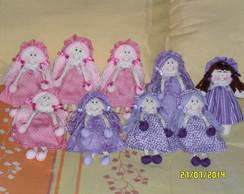 Bonecas e bonecos para cortina