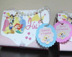 Convite Princesas bolsinha