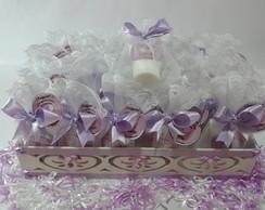 30 Hidratantes c/ Bandeja-Maternidade