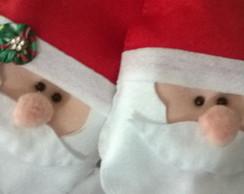 Prendedor de cortina Rosto Papai Noel