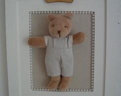 (MO 0259) Quadro urso pr�ncipe