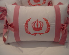 (ALA 0083) Almofada decorativa bordada