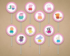 Peppa Pig - Kit Toppers