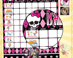 Quadro Incentivo Monster High