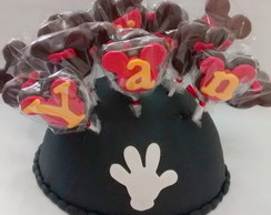 cake pop do Mickey