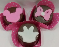 Brownie da Minnie Rosa