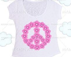 T shirt, baby look, bata Paz e Amor 2