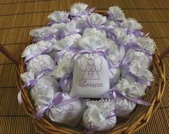 Lembrancinha-sach� anjinho lil�s