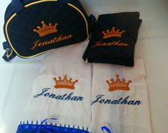 kit bolsa de mao com jogo de fralda