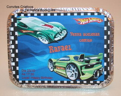 Marmitinha personalizada - Hot Wheels