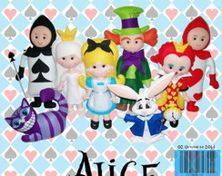Apostila Digital de Feltro Alice