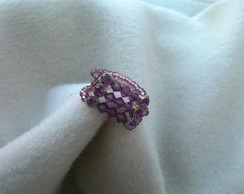 Anel Strass Roxo