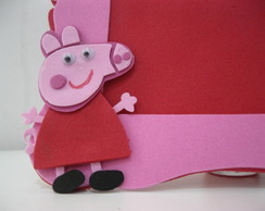 Porta Retrato Peppa Pig