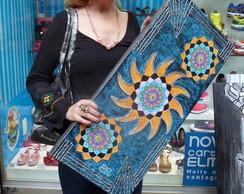 """Mandala """"SEGUNDO SOL"""" - 75 x 35Cm"""
