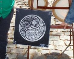 "Mandala ""P�ROLAS"" - 40x40 cm"
