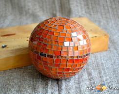 Bola -Esfera Decorativa em Mosaico Tam M