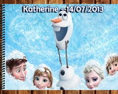 Caderno de Desenho - Frozen
