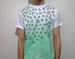 Camiseta Harry Potter-Rel�quias da Morte