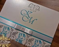 Convites de Casamento - Cole��o Royal -