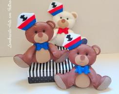 Ursos Marinheiros 25 cm.