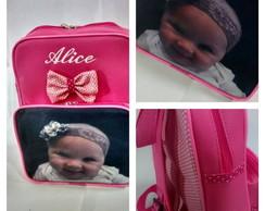 mochila infantil com foto