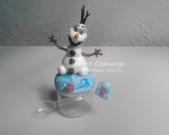 Potinho do Olaf Frozen