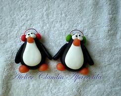 Im� ou Aplique Duo Pinguim