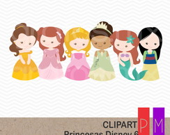 Kit Scrap Digital Princesas Disney 6