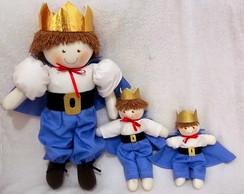 conjunto de bonecos principe
