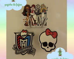 Apliques Monster High fotogr�ficos